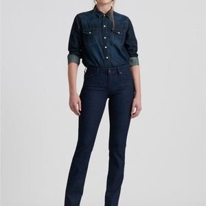 Lucky Brand   Midrise Straight Jeans   Blue   14